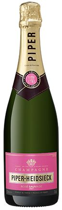 Champagne Piper-Heidsieck Rose Sauvage Brut