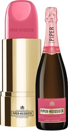 "Champagne Piper-Heidsieck Rose Sauvage (gift box ""Lipstick"")"