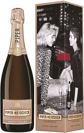 "Champagne Piper-Heidsieck Cuv?e Sublime Demi-Sec (gift box ""Dash Of Seduction"")"