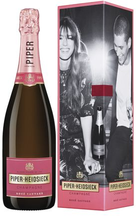 "Champagne Piper-Heidsieck Ros? Sauvage (gift box ""Dash Of Seduction"")"
