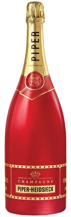 "Champagne Piper-Heidsieck Brut ""Cinema Limited Edition Red Bottle"""