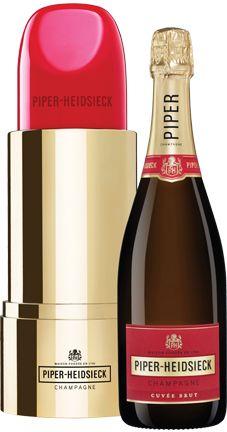 "Champagne Piper-Heidsieck Brut (gift box ""Lipstick"")"