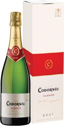 Cava Codorniu Clasico Brut (gift box)