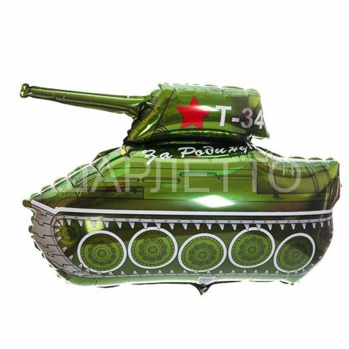 """Шар фигура """"Танк Т-34"""""""