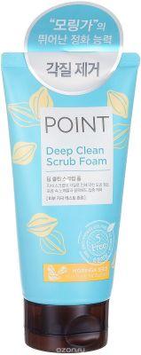 KeraSys POINT Пенка-скраб для умывания Глубокое очищение 150г (для всех типов кожи)