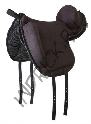Пад для езды без седла Barefoot Ride-On-Pad Support Physio Black