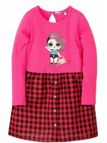 Платье LOL для девочки 3-7 лет Bonito kids BK248P4