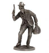 Грабитель поезда (олово)
