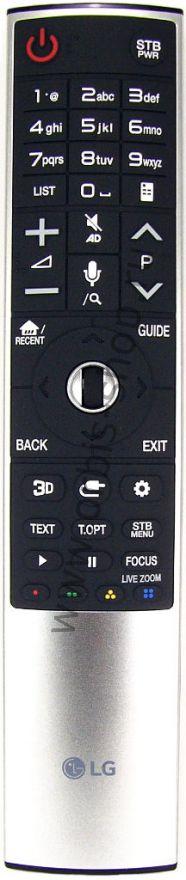 Пульт ДУ Magic Remote LG AN-MR700, замена для AN-MR400/500/600/650