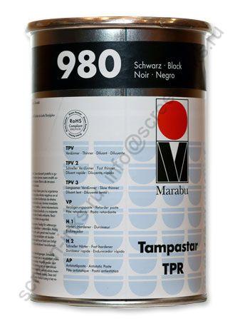 Краска Marabu Tampastar TPR 980 Black 1 л.