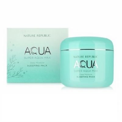 Маска для лица ночная Nature Republic SUPER AQUA MAX DEEP MOISTURE SLEEPING PACK(RR) 100мл