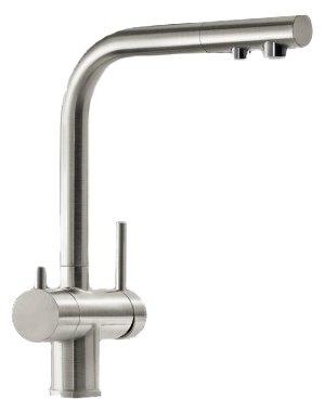 Однорычажный смеситель для кухни (мойки) Blanco Fontas II (нержавеющая сталь) 525138