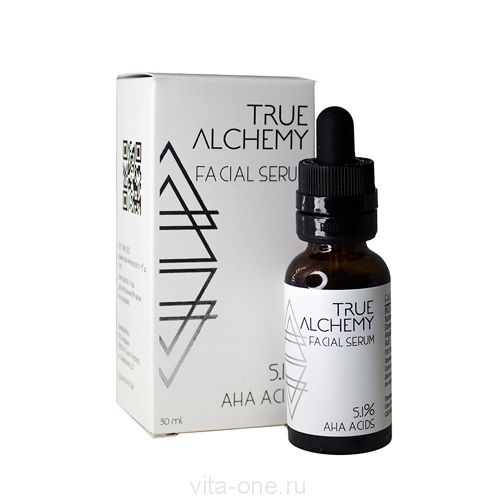 Сыворотка для лица AHA Acids 5.1% True Alchemy Levrana (Леврана) 30 мл