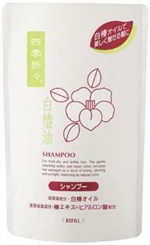 Шампунь для сухих и сильно поврежденных волос c экстрактом белой камелии премиум SHIKI-ORIORI