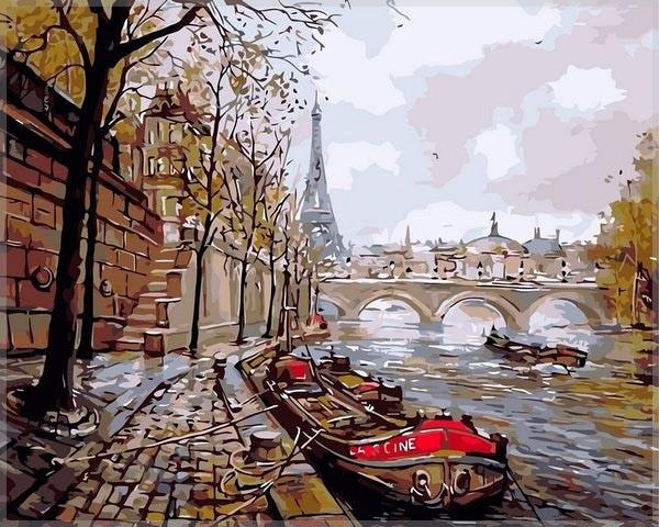 """""""Париж"""" живопись на холсте 40х50см"""
