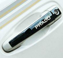 Накладки на ручки 4х дверей, с логотипом, 3 цвета металла