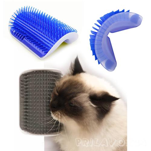 Массажер для кошек с креплением к стене Cat it