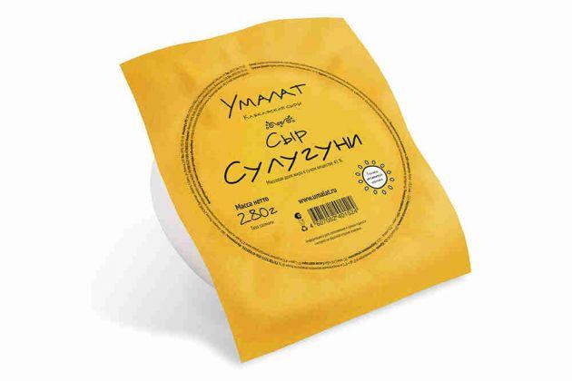 Сыр умалат сулугуни 45% 280г