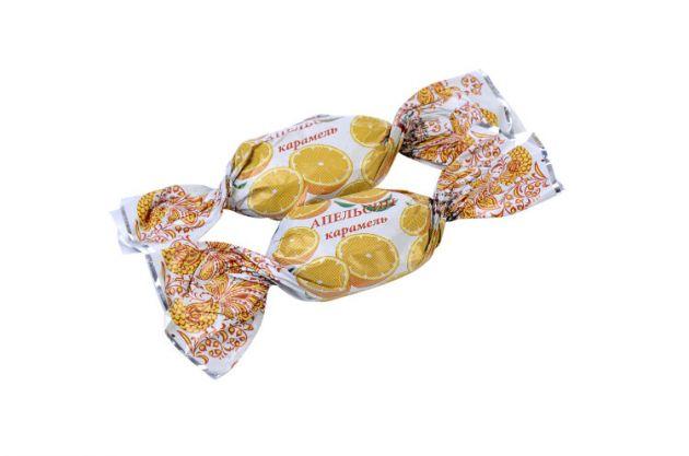 Карамель Апельсин 1кг. Глав-кондитер