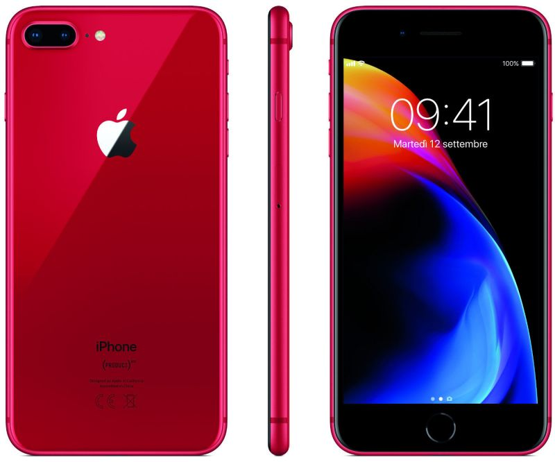 Apple iPhone 8 Plus 64GB LTE Red (A1897) (MRT92RU/A)