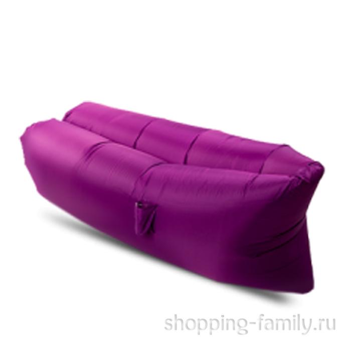 Надувной матрас гамак Lamzac (Ламзак), цвет фиолетовый