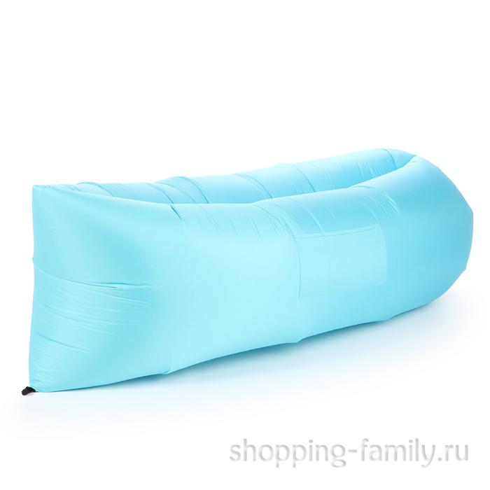 Надувной матрас гамак Lamzac (Ламзак), цвет голубой