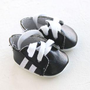 Обувь для кукол 4,5 см - кроссовки Черные