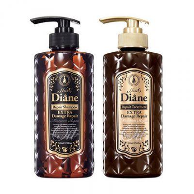 Moist Diane Repair Набор подарочный Шампунь бессиликоновый 500 мл и Бальзам-кондиционер 500 мл Глубокое восстановление