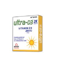 Витамин Д3 2000 IU в таблетках Мейэр Органикс | Meyer Organics Ultra D3 2K Tablets