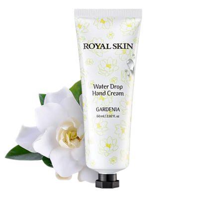 Royal Skin Water Drop Увлажняющий крем для рук с экстрактом гардении 60 мл