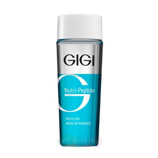 GiGi Жидкость для снятия макияжа с пептидами Nutri Peptide Eye & Lips MakeUp Remover