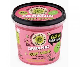 "Skin Super Food  Скраб для тела Полирующий ""Guava bubble gum"", 485 мл"