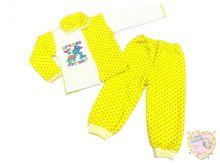 Костюм детский капитон: кофта, штаны (01065) оптом Мамин Малыш OPTMM.RU