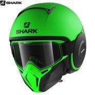 Шлем Shark Street Drak Neon, Зелёный матовый