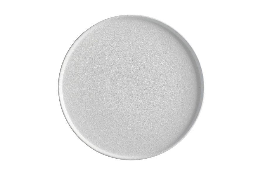 """Тарелка обеденная """"Икра"""" (белая) 26.5 см"""