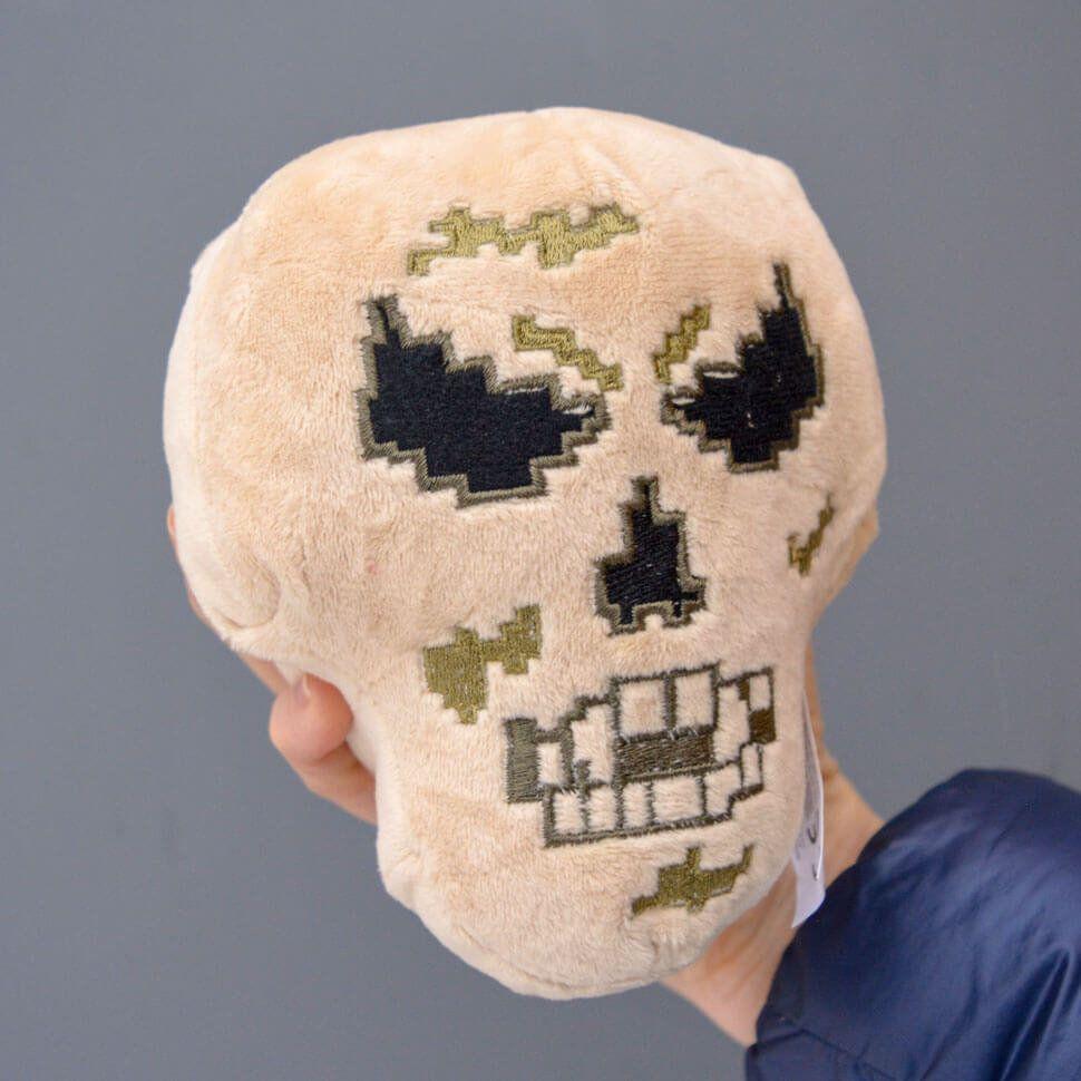 Плюшевый череп Майнкрафт