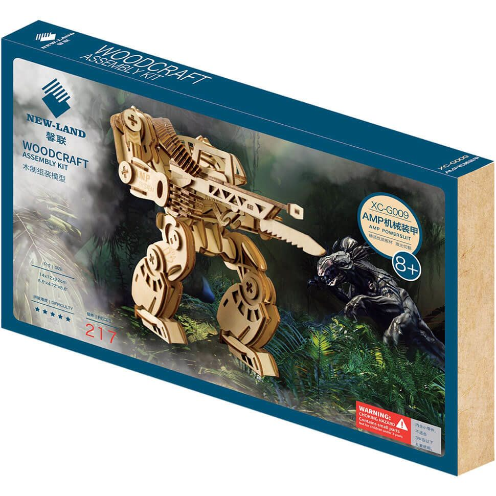 Робот из Аватара деревянный 3D пазл