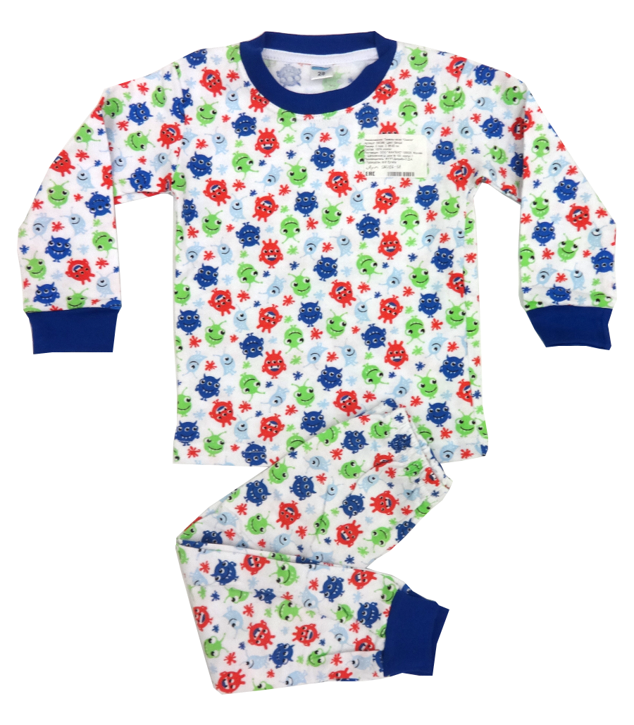 Пижама для мальчика Монстрики