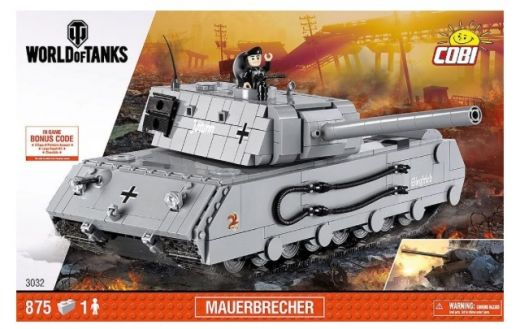 КОБИ World of Tanks - Немецкий тяжелый танк Mauerbrecher COBI-3032