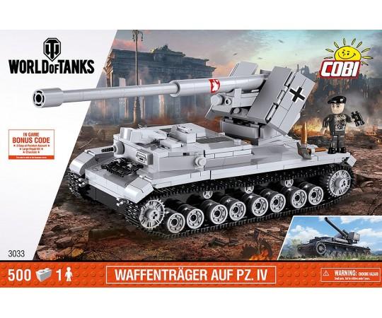 КОБИ World of Tanks - Немецкая самоходная артиллерийская установка Waffentrager auf Pz.IV. COBI-3033