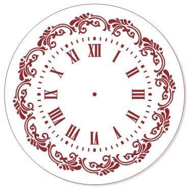 Трафарет для часов, ЭЛГ30-09, d=30 см