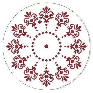 Трафарет для часов, ЭЛГ15-06, d=15 см