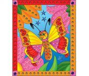 """Мозаика из пайеток """"Бабочка"""", А4 (арт. М-4343)"""