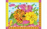"Мозаика из пайеток ""Нежный букет"", А4 (арт. М-4355)"