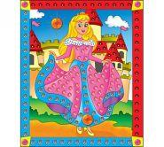 """Мозаика из пайеток """"Принцесса"""", А4 (арт. М-4346)"""