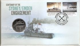 Битва крейсеров у Кокосовых островов 50 центов Австралия 2014
