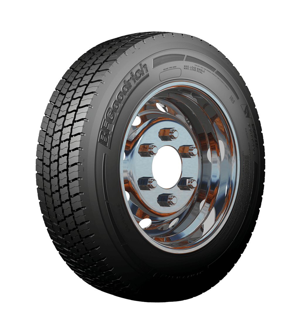 БФ гудрич 315/70R22.5 ROUTE CONTROL D TL 154/150 L Ведущая M+S