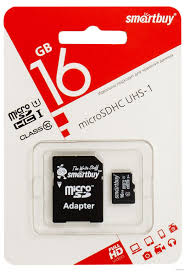 Карта памяти SmartBuy 16 gb