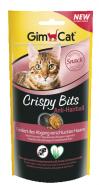 Gimcat Crispy Bits для вывода комков шерсти 40 г