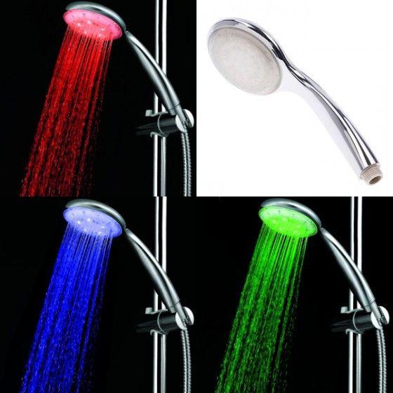 Светодиодная насадка для душа LED Shower